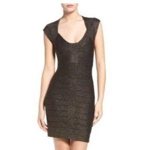 French Connection Black Bandage Dress